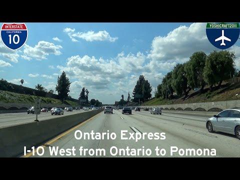 (5-4) Ontario Express - I-10 West from Ontario to Pomona