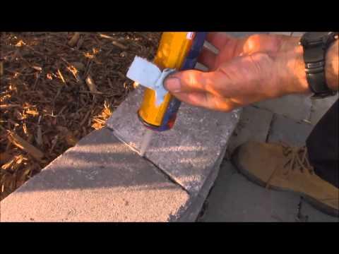 How to caulk brick porch perfect, repair exterior masonry, fix cracks, waterproof