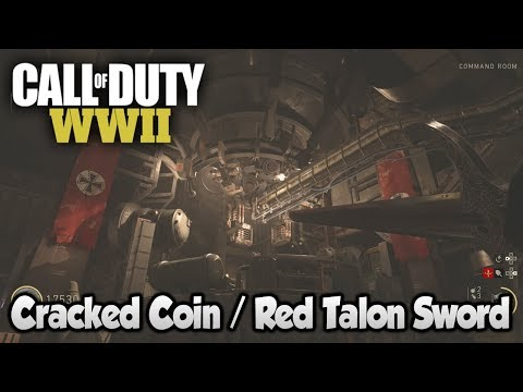 COD WW2 Zombies The Final Reich - Easter Egg Step 4 (Cracked Coin / Red Talon Sword)