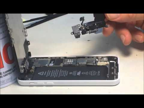 iPhone 5c charge port headphone jack replacement