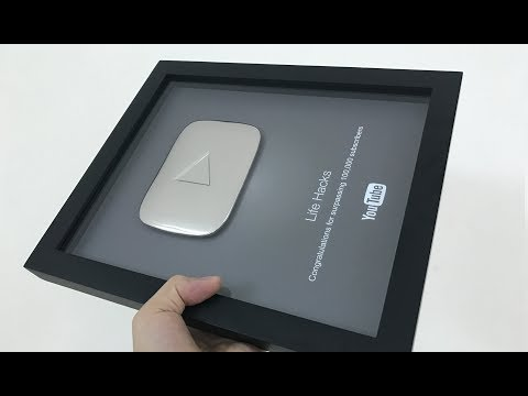 FINALLY I GOT MY SILVER PLAY BUTTON! (Unboxing and Reaction)