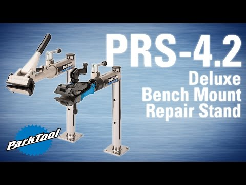 PRS-4.2-1 & PRS-4.2-2 Deluxe Bench Mount Repair Stand