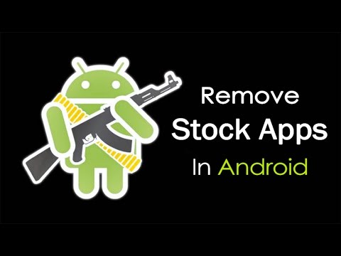How To Remove Bloatware Stock Apps In Android Device Without Rooting or any software