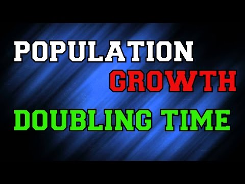 Population Growth -3 Doubling Time