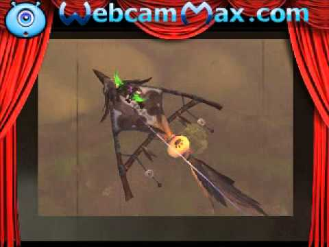 Hardlly Worgen - features the flight path to HALF HILL MARKET - World of Warcraft - Pandaria Content