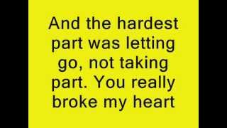 Coldplay The Hardest Part Lyrics