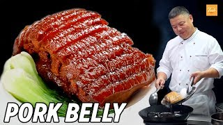 Chinese Pork Belly Recipe by Master Chef • Taste The Chinese Recipes Show