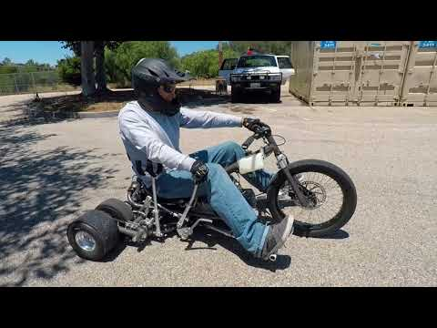 Building a Variable Traction Drift Trike - Part 4 - Riding