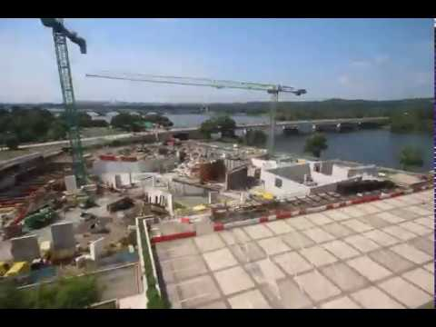 Kennedy Center expansion time-lapse