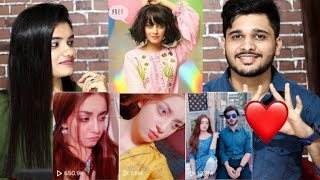 Indian Reaction On Best Of ALIZEH SHAH Tik Tok Compilation | M Bros Reactions