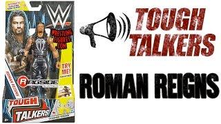 WWE FIGURE INSIDER: Roman Reigns - Mattel WWE Tough Talkers Series 1!