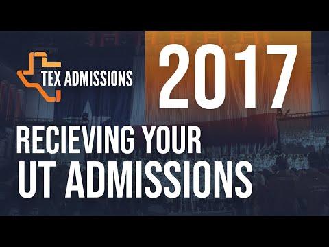 Receiving your UT-Austin Decision 2017: Appeals, CAP, PACE, Transfer