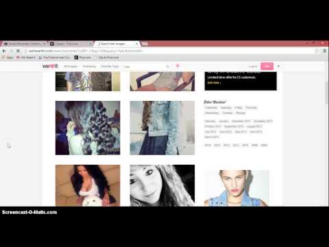 How To Clip Items From WeHeartIt To Polyvore