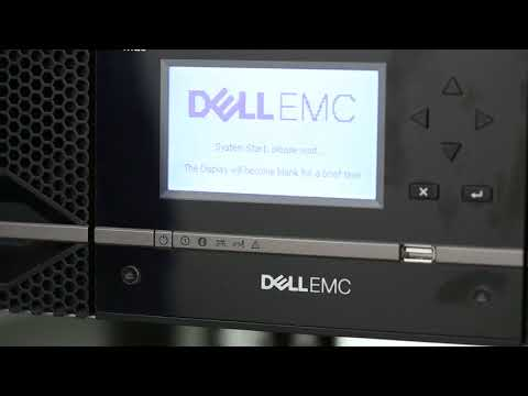 Dell Storage ML3: Power on Unit