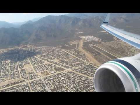 Alaska Airlines First Class Take Off - Cabo San Lucas (SJD-SAN) San Diego - Boeing 737-800