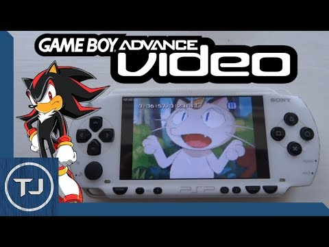 Running GameBoy Advance Video On PSP!