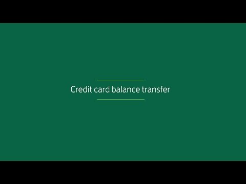 What's a Credit Card Balance Transfer? | Lloyds Bank Video