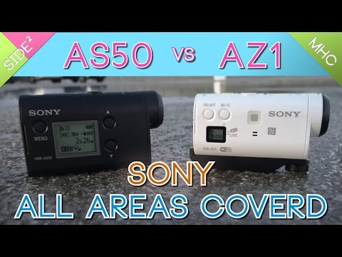 Sony HDR-AS50 vs HDR-AZ1 : All Aspects Comparison