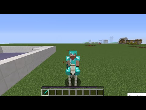 How to get Skeleton and Undead horses in Minecraft 1.9!