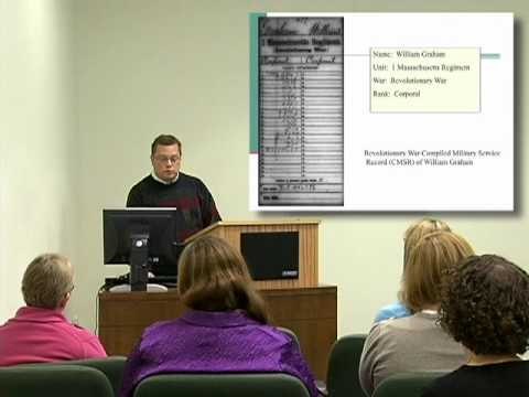 Genealogy Introduction—Military Research at the National Archives: Volunteer Service