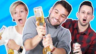 The One-Hour Beer Bottle Challenge