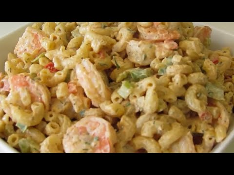 How to make Shrimp Macaroni Salad