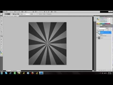 How To Create Custom Brushes (Starburst Effect) | Adobe Photoshop CS5 Tutorial