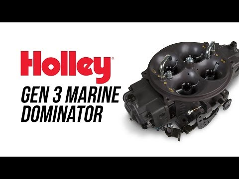 Holley Gen 3 Marine Ultra Dominator
