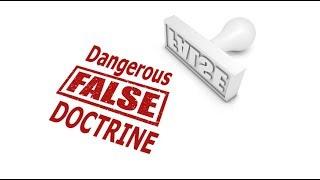The MOST PERNICIOUS doctrine of the UPC & Apostolic churches!