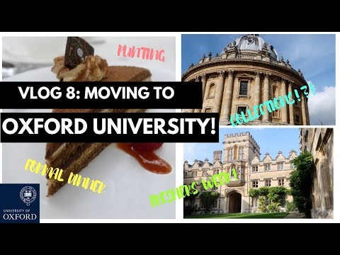 MOVING TO OXFORD UNIVERSITY VLOG | MATHS WEEK AT UNIV | THIS IS MANI