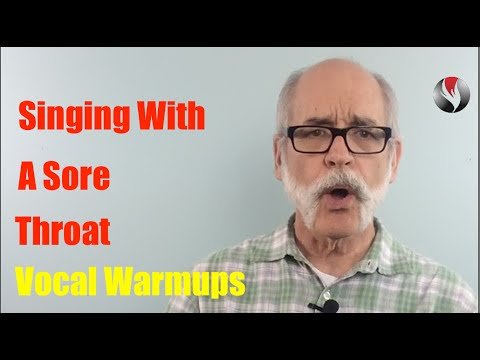 Ep 99  Singing With a Sore Throat   Vocal Exercises Warmups Warmdowns