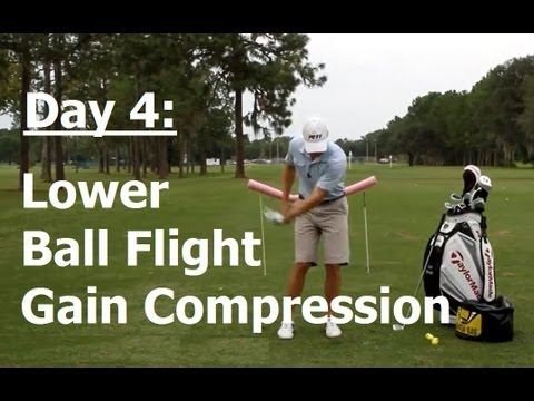 How to Practice Golf (Day 4) 9 Days to Amazing Ball Striking: Low Penetrating Shots