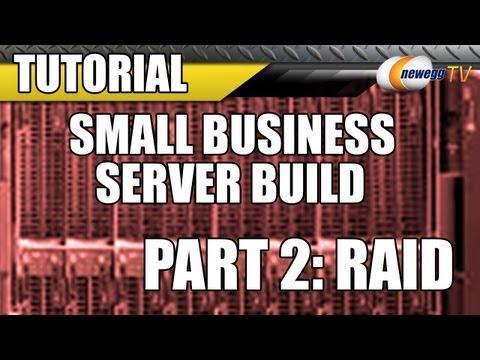 Newegg TV: Small Business Server Build with Intel & Microsoft (Part 2: RAID)
