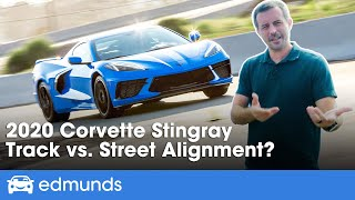 2020 Corvette Stingray Long-Term Update ― Sports Car Performance Test! Track vs. Street Alignment