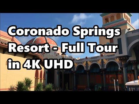 Disney's Coronado Springs Resort   Full Tour 2017 in 4K UHD   Walt Disney World