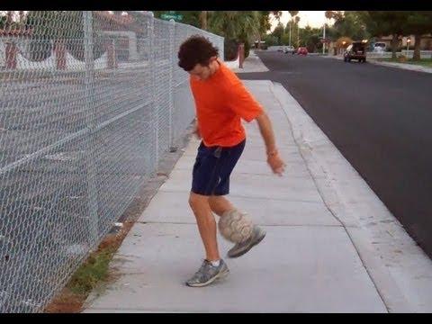 Soccer Tricks - Fancy Juggling Pick Up Trick - Online Soccer Academy