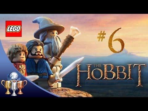 LEGO The Hobbit - Walkthrough [Part 6] - Flies and Spiders & Barrels out of Bond