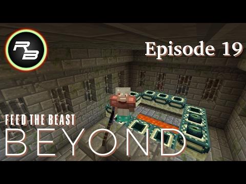 Modded Minecraft : FTB Beyond : Ep 19 : Strongholds & Blaze Spawners
