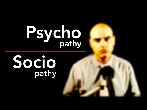 Psychopathy vs Sociopathy,  Psychopaths and Sociopaths, 3 differences