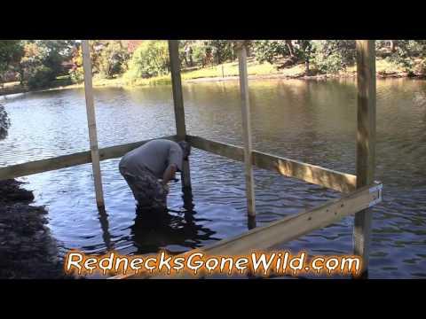 Building A Dock Part 3 (Special Guest)
