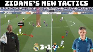 Tactical Analysis: Real Madrid 3-1 Eibar | Zidane's New Tactics | Goals: Ramos, Marcelo, Kroos.