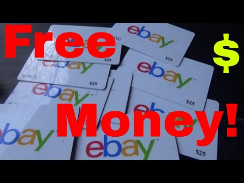 Free eBay Money, 2 Programs to Check Out!