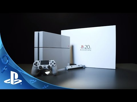 PlayStation HEROES - Win A 20th Anniversary PS4