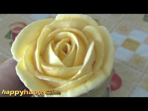 How To Pipe Buttercream Roses 2015 Secrets Revealed