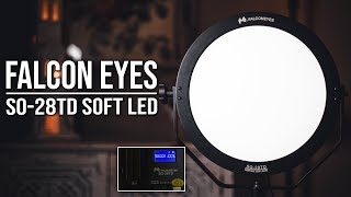 FalconEyes 68W LED Panel Dimmable Lighting Photo Video Film