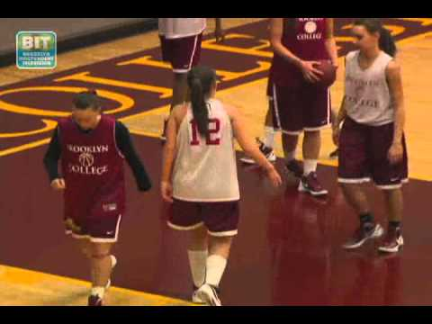 Brooklyn College Women's Basketball: In The Zone