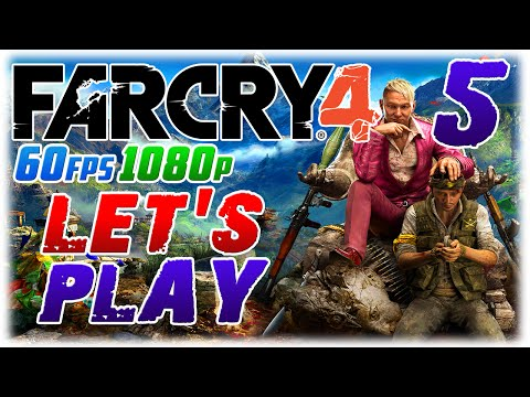 Far Cry 4 Let's Play #5 in 1080p 60fps; TUPAC LIVES (1080p60 Far Cry 4 PC Playthrough #5)