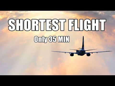 The Shortest Flight of My Life Only 35 Minutes