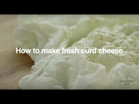 how to make fresh curd cheese