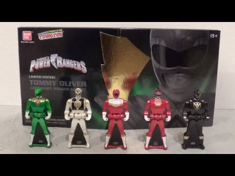 NYCC 2014 Tommy Oliver Ranger Key Set [Power Rangers Super Megaforce]
